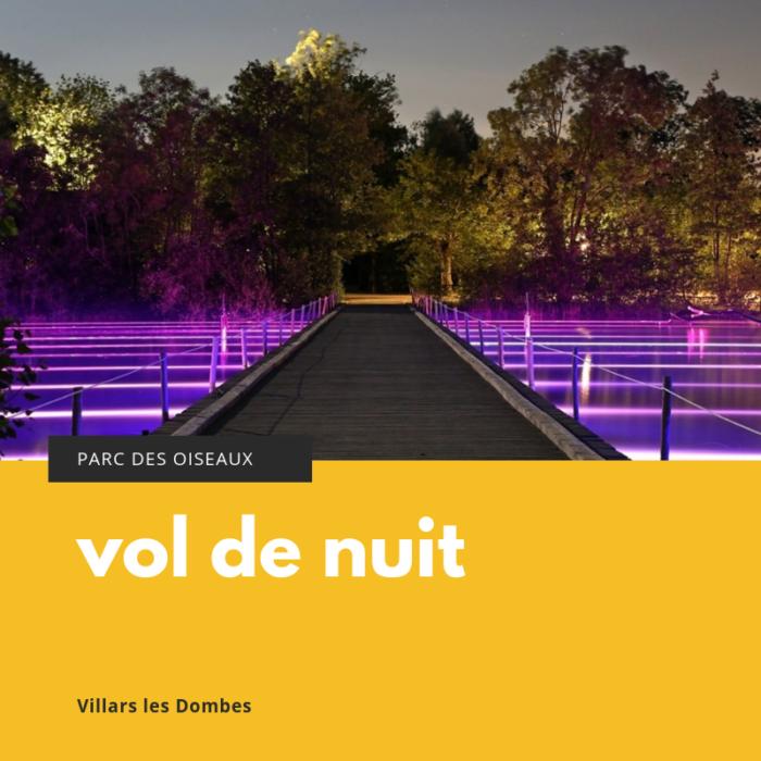 Le Parc Des Oiseaux En Nocturnes