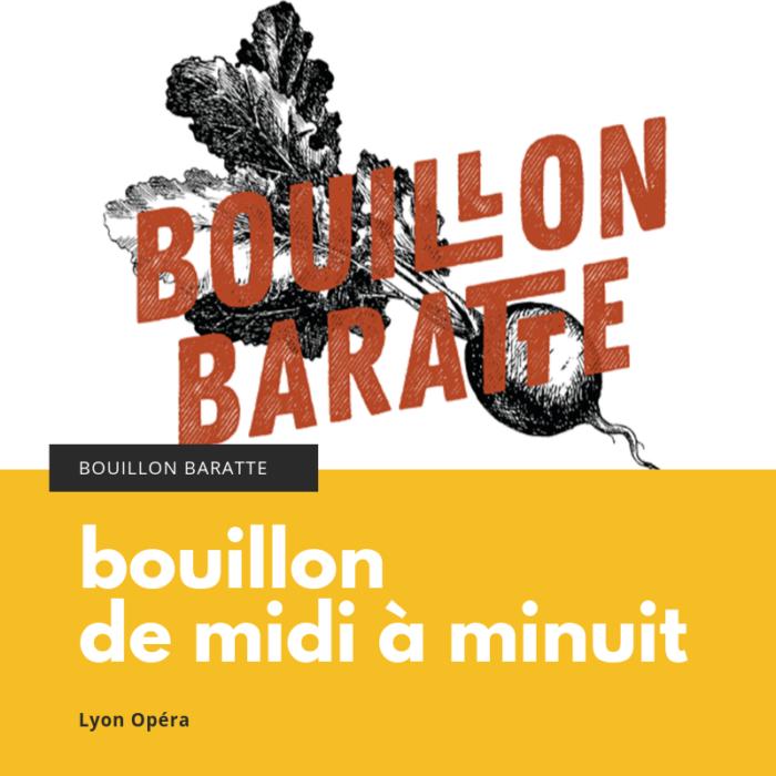 Bouillon Baratte